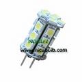 LED G4 Light 13SMD5050 2.5W corn light back-pins cabinet bulb 3