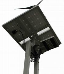 LED大功率太陽能路燈風光互補