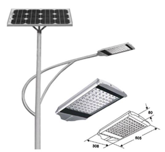 LED大功率太阳能路灯风光互补 4