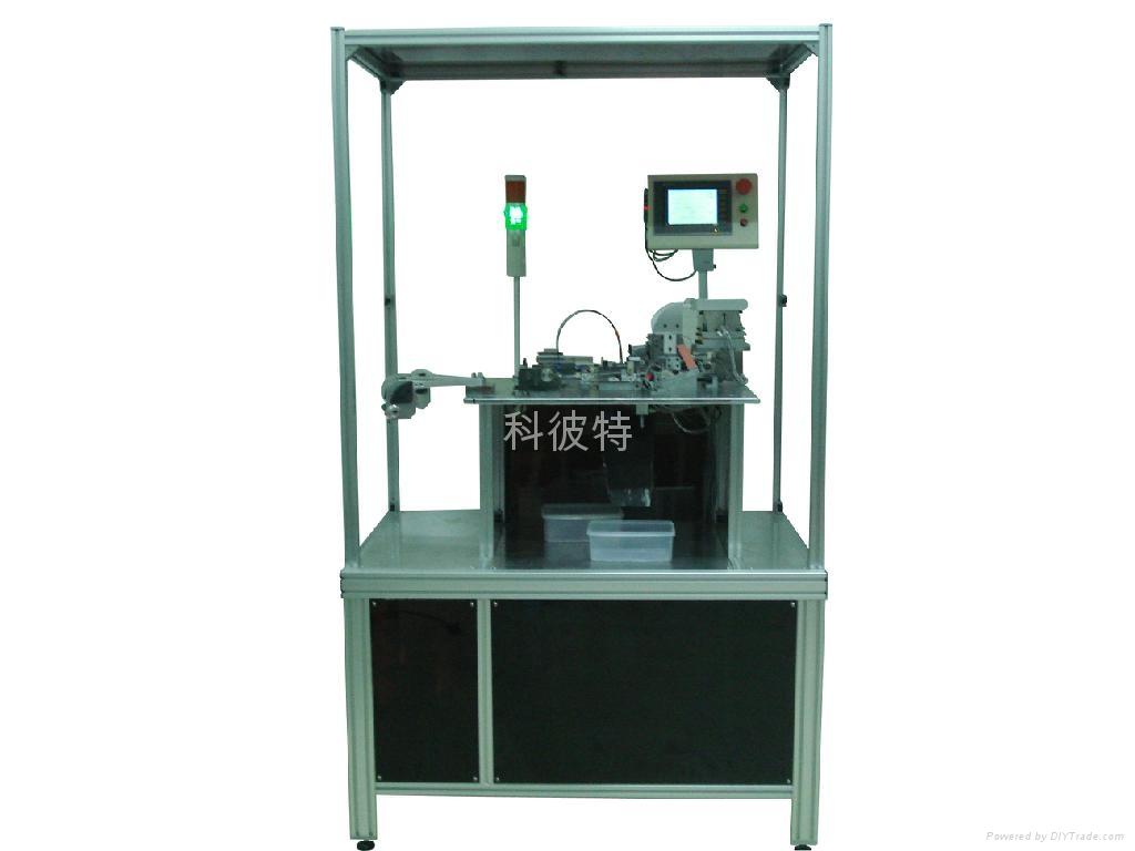 全自動磁環繞線機-單盤型 1