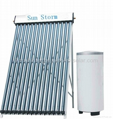 2011 latest product High quality Split pressurized solar water heater