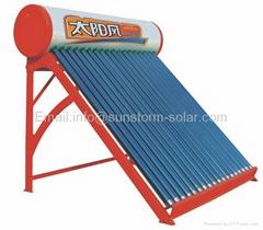 太阳风非承压太阳能热水器