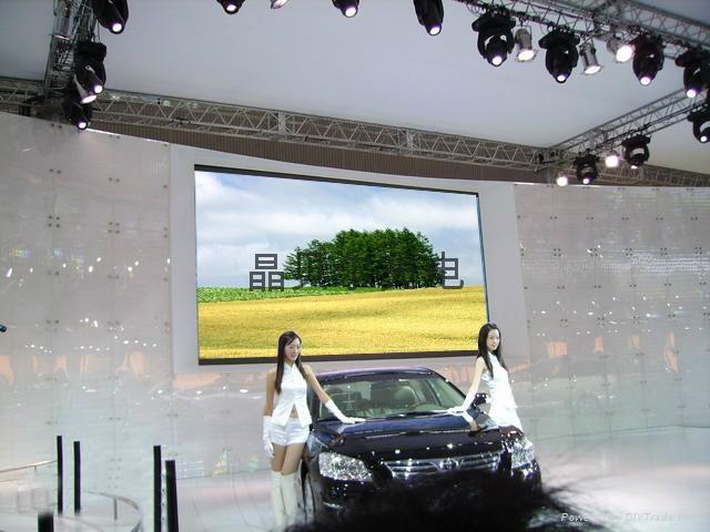 現貨供應甘肅省室內P5表貼全彩LED顯示屏 1