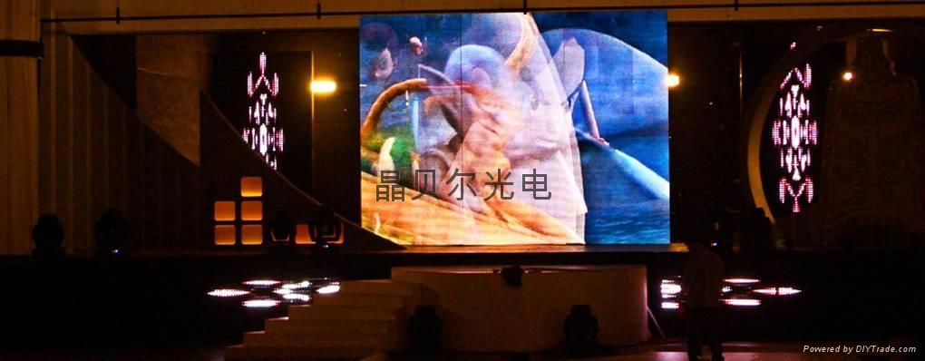 現貨供應新疆室內P5表貼全彩LED顯示屏     1