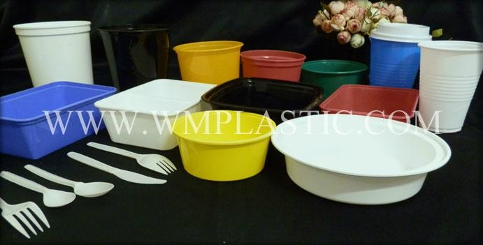 pp plastic disposable tableware 2