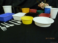 microwaveable takeaway pp food containers