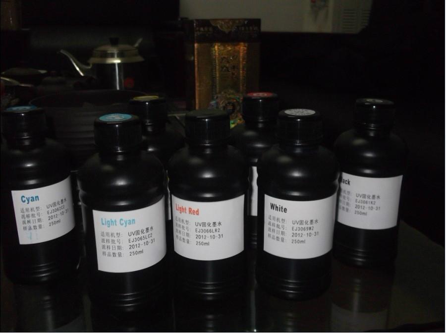 UV固化墨水 UV平板打印機墨水 UV墨水 溶劑墨水 UV光固化油墨 1