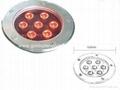 LED 7*1W Ground light