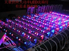 DMX512外控全彩LED洗牆燈
