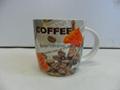 can shape ceramic mug branded printing customized design 1