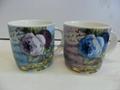 can shape ceramic mug branded printing customized design 3