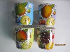 hot sale promotional ceramic porcelain fine bone china mug