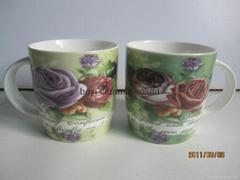 hot sale branded ceramic porcelain fine bone china mug
