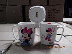 hot sale nestle promotion mug customized design