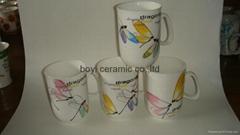 hot sale promotion mug fine bone china personalized design