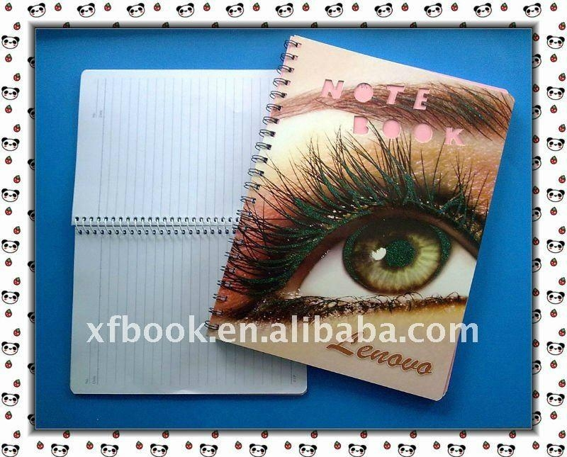 French ruled paper spiral notebook  1