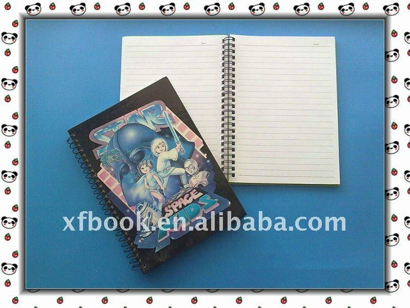 French ruled paper spiral notebook  3