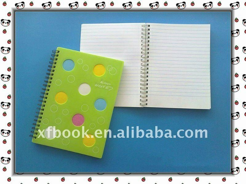 French ruled paper spiral notebook  5