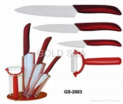 5 PCS ceramic knife