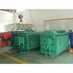 维修后的630KVA防爆变压器