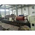 1800KW高压电机转子精加工