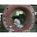 1680KW高压电机定子局部修