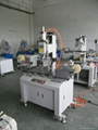 Rubber roller printing machine