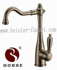Bronze Hole Kitchen Faucet
