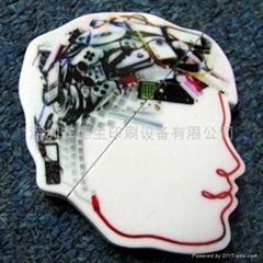 深圳安德生A1型PVC漫画卡片平板打印机