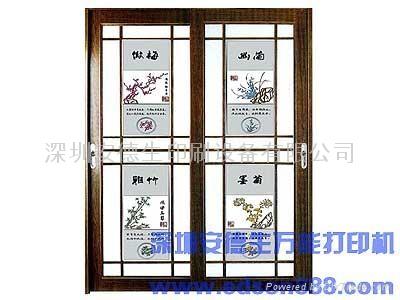 深圳安德生E-001型熱彎玻璃手機展示架數碼印刷機 5