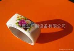 深圳安德生E-2500A0型法国红泥耐磨砖  打印机