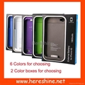 External Battery Case for iPhone 4/4S (Hot Product - 1*)