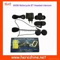 Bluetooth Motorcycle Helmet Bluetooth Intercom
