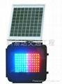 LED太陽能頻閃信號燈