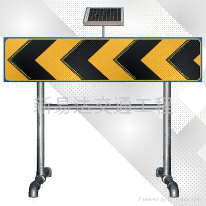 太陽能施工導向信號燈 4