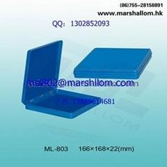 出口遊戲卡片正方形鐵盒