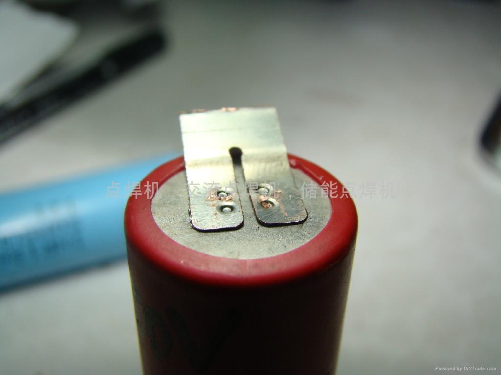 锂电池碰焊加工点焊图片