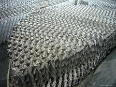 不鏽鋼壓延刺孔波紋填料