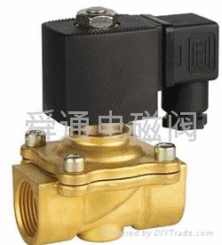 舜通2W-15直拉膜片水用电磁阀  1