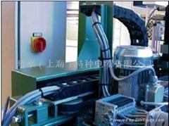 耐油無鹵長行程伺服電機拖鏈電纜