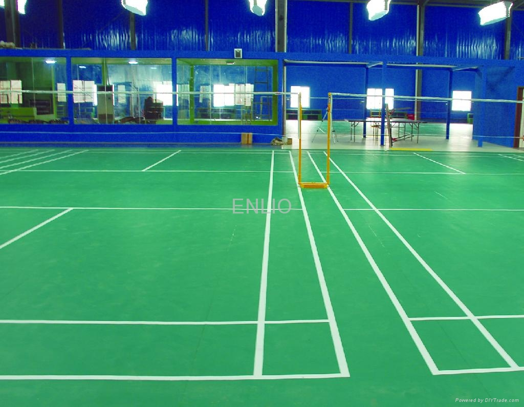 Badminton Sports Flooring Yl23150 Enlio China