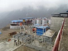Gold Cyanide Process---300tpd CIL plant