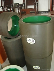 White Brown Amber Rice Rubber Rolls In Machine