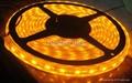 LED全套管灌胶IP68防水黄光灯条 1