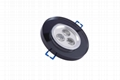 3*1W surface mounted led ceiling light