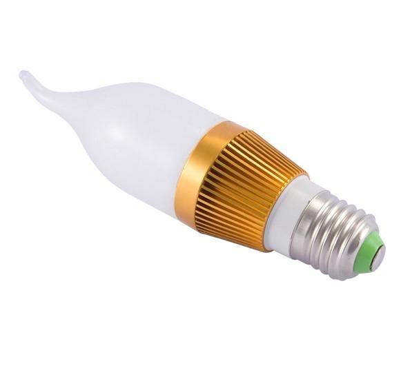 E27 E14 LED bulb candle lamp 1