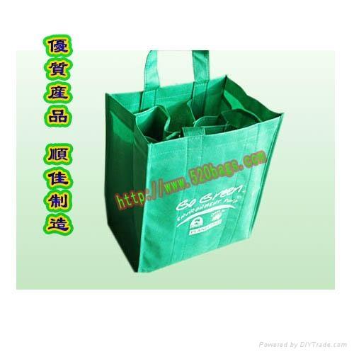 无纺布红酒高档礼品袋  1