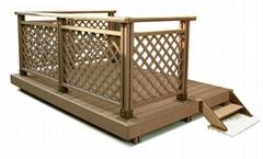 耶普塑木--露台