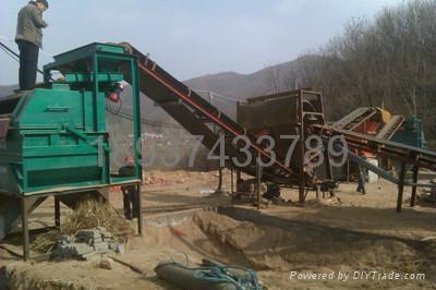 常年使用不退磁的鐵礦干選機 2