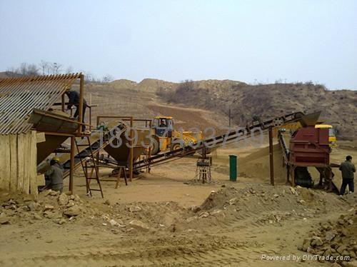 山東干式選礦磁選設備 1